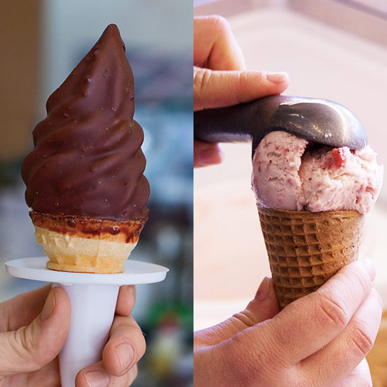 Jenis Es Krim Perbedaan Soft Ice Cream dan Hard Ice Cream