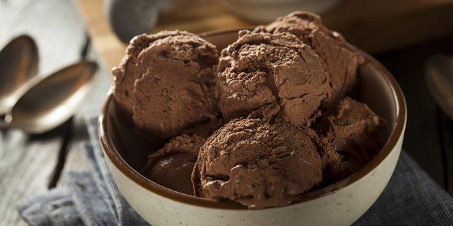 Resep Es Krim Coklat – Membuat Es krim Coklat Lembut